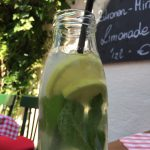 Holler-Zitronen-Minz-Limonade